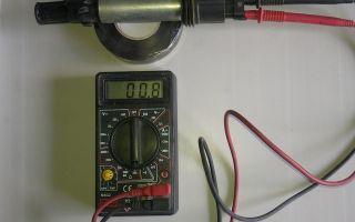 Руководство, как проверить катушку зажигания мультиметром и искрой, видео