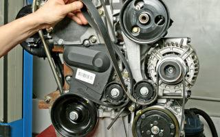Меняем ремень генератора renault logan самостоятельно: инструкции с фото