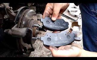 Замена передних тормозных колодок на hyundai solaris