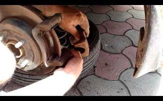 Замена задних тормозных колодок на hyundai solaris