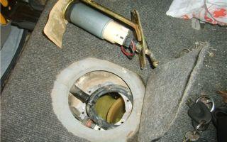 Замена фильтра бензонасоса на daewoo nexia: пошаговая инструкция и фото