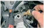 Инструкция по замене датчика температуры охлаждающей жидкости на lada kalina