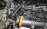 Снятие и замена свечей зажигания на volkswagen polo sedan 1.6