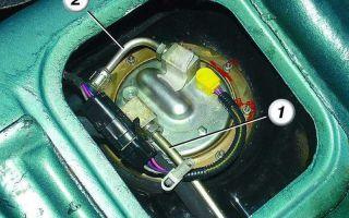 Снятие и замена топливного фильтра ваз 2108, 2109, 21099