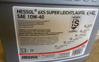 Все о моторном масле марки hessol 10w-40: особенности, фото и видео