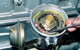 Ремонт и установка трамблера на 402 двигателе, регулировка зажигания: видео, как установить привод