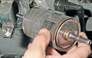 Снятие и замена топливного фильтра лада приора