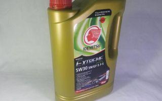 Моторное масло idemitsu extreme eco 5w30: фото, видео и отзывы о нем