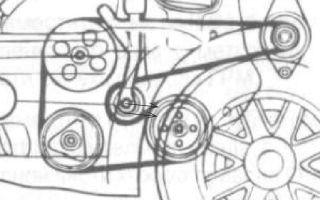 Ремень генератора chevrolet (lanos, lacetti, cruze и aveo): инструкция по замене и натяжке