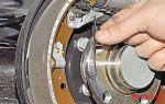 Снятие и замена передних тормозных колодок на volkswagen polo sedan