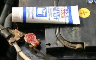 Функции смазки для клемм аккумулятора и обзор средств, защита клемм от окисления
