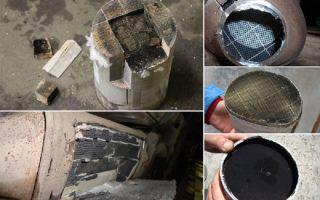 Удаление и чистка сажевого фильтра дизельного двигателя: фото и видео