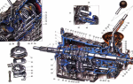 Описание устройства коробки передач ваз 2107: фото- и видеообзор