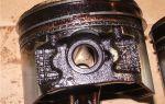 Что такое залегание поршневых колец и его признаки: описание, фото и видео