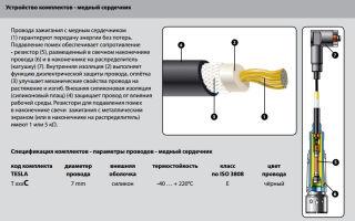 Характеристика высоковольтных проводов зажигания для авто, проверка и ремонт