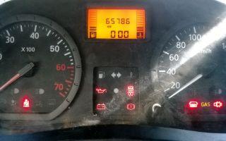 Описание индикаторов на панели приборов renault (logan и sandero): обозначения и ремонт щитка