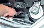 Как поменять ремень генератора на lada priora своими руками: инструкции с фото