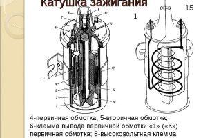 Принцип работы катушки зажигания и то, как она устроена, с фото: что это такое, как работает и где находится в автомобиле, характеристика, схема и виды устройства