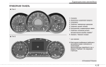 Характеристика панели приборов автомобиля, разновидности щитков