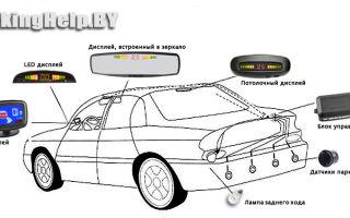 Пособие, как работают передние и задние парктроники, как установить, ремонт и отзывы