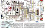 Проводка ваз 21214, 21213 и др. нива инжектор и карбюратор, электрическая схема