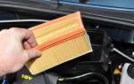 Замена воздушного фильтра в lada largus своими руками: фото и видео