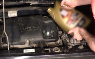 Замена масла в двигателе ваз 2113, 2114, 2115