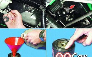 Все о замене масла в двигателе ваз 2110: пошаговая инструкция и фото