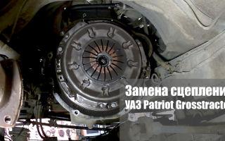 Замена сцепления на авто uaz patriot, какое сцепление лучше поставить