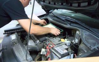 Меняем воздушный фильтр volkswagen polo sedan: пошаговая инструкция и фото