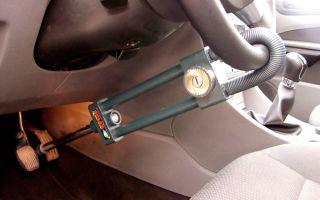 Противоугонные механические устройства для автомобилей: как сделать своими руками автомобильную противоугонку и топ 10 систем для авто на руль, кпп и капот