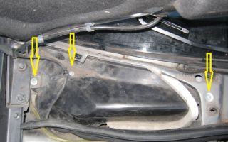 Снятие и замена салонного фильтра лада калина