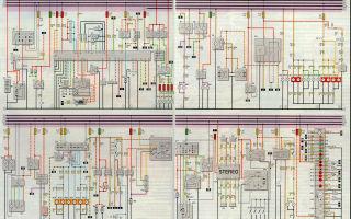 Электросхема daewoo nexia и matiz с описанием электрооборудования, поиск проблем с проводкой