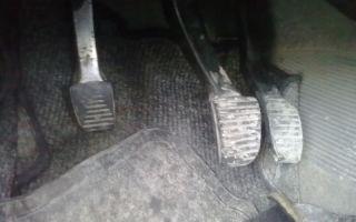 Почему провалилась педаль сцепления ваз 2110: причины, фото и видео