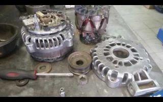 Ремонт генератора и замена его ремня на автомобилях opel (astra h и других моделях)