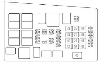 Cхема предохранителей mazda 6: месторасположение и способы замены