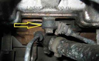 Где находится датчик детонации и уровня топлива на lada priora: признаки неисправности и замена