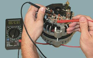 Ремонт и замена генератора ваз 2107: как снять и проверить устройство своими руками, проверка мультиметром в домашних условиях и видео