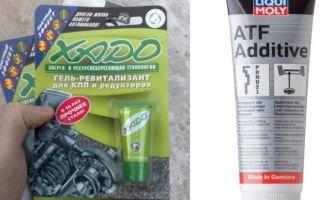 Обзор присадок xado и liqui moly в коробку передач и отзывы о них: фото и видео