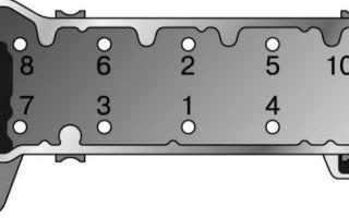 Порядок затяжки головки блока цилиндров ваз 2106: пошаговая инструкция с фото