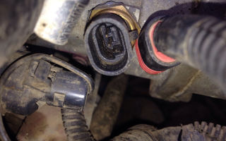 Ремонт и замена датчика температуры охлаждающей жидкости на lada priora