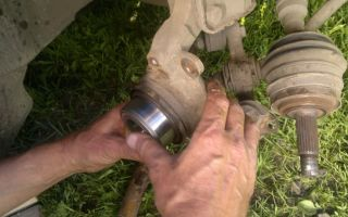 Замена переднего подшипника ступица лада калина