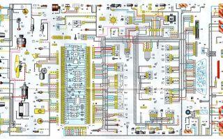 Схема электропроводки ваз 2115 инжектор 8 клапанов: инструкция по обслуживанию