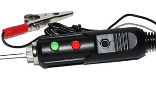 Инструменты и оборудование автоэлектрика: пробник (тестер) на светодиодах своими руками