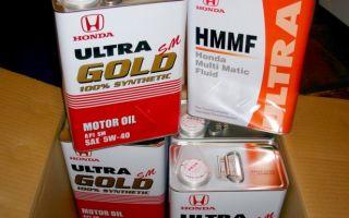 Подбираем правильно моторное масло для honda: фото- и видеообзор