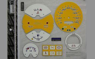 Панель приборов ваз 2105: описание с фото, снятие приборки и тюнинг щитка