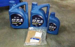 Как выбрать и поменять масло акпп hyundai solaris: фото и инструкции
