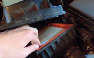 Замена воздушного фильтра на ford fusion: пошаговая инструкция и фото