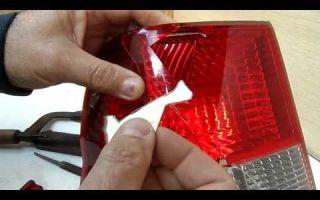 Ремонт, замена и тюнинг задних фонарей автомобиля своими руками: как разобрать фары
