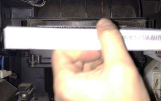 Замена салонного фильтра toyota corolla e120